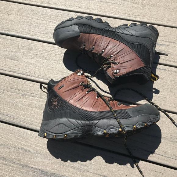 Elk Woods Steel Toe Waterproof Boots